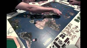 Axis Allies 1942 2nd Edition Time Lapse July 22 2012