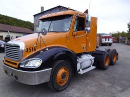100 Day Cab Trucks For Sale 2006 Freightliner Columbia Tandem Axle Tractor For Sale By