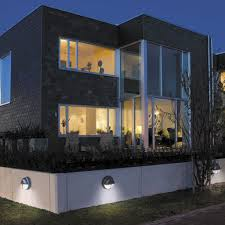 contemporary wall light outdoor garden aluminum eyekon