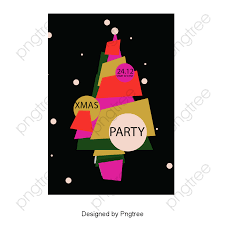 Transparent Creative Cartoon Christmas Tree PNG Format Image With