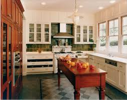 wood floor tiles kitchen mediterranean with arts crafts cherry