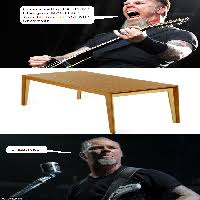 desk meme meaning i am the table your meme
