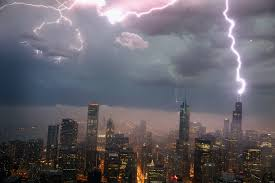 Chicago Storm 2013 Photos Storms Leave Thousands Without Power Despite No Derecho