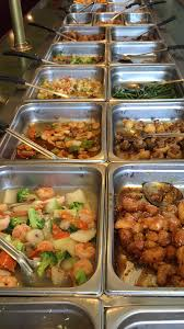 Chinese food Buffet options