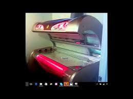 Solar Storm Tanning Bed by Kbl 6800 Tanning Bed Review Youtube