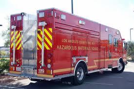 100 Hazmat Truck LACoFD 129 Hazardous Materials Squad LA County Fire