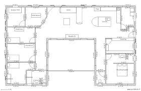 plan maison plain pied 6 chambres de maison 6 chambres plain pied gratuit plan newsindo co