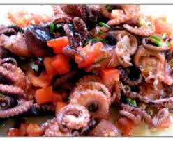 cuisiner poulpe frais salade de poulpes recette de salade de poulpes marmiton