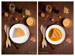 Best Pumpkin Pie With Molasses pumpkin pie cheesecake with molasses caramel sauce for two
