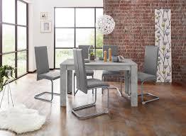 homexperts essgruppe nitro set 7 tlg tisch breite 140 cm 6 stühle kaufen otto