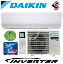 daikin aircond 1 5hp r32 inverter ftkf35a rkf35a home appliances kitchen for sale in kuchai lama kuala lumpur mudah my