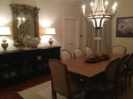 Ethan Allen Mahogany Dining Room Table by Our Dining Room In Avery Gardens In Jackson Mississippi Ethan