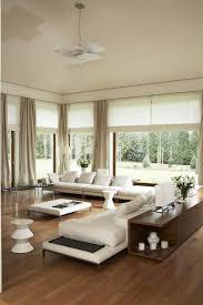wohnzimmer modern weiße polstermöbel holzboden wohnzimmer