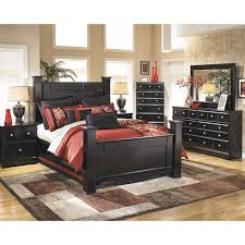 Shay 5 Piece King Bedroom Set in Almost Black