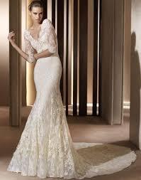 vintage wedding dresses long sleeves