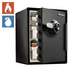 SentrySafe 205 CuFt Fireproof Safe And Waterproof Safe With Dial