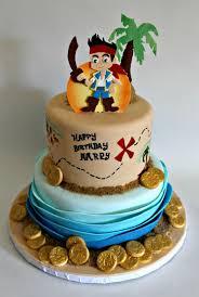Disney Party Ideas Jake and Neverland Pirates cake