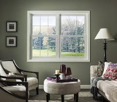 Simonton Patio Doors 6100 by Vantagepointe 6100 Double Hung Window Vantagepointe Windows