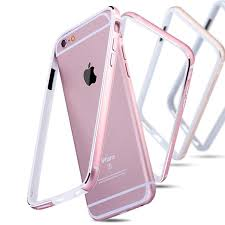 Aluminum Silicone Bumper Case For iPhone 6 6S 6 Plus 6S Plus