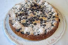 quark pudding kuchen mit kirschen und rührteig
