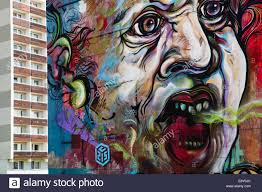 100 C215 Art Work Face Your Own Fears By In Bratislava Slovakia Stock