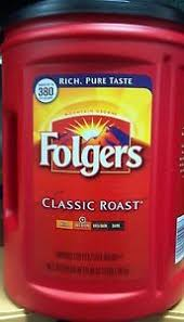 Image Is Loading Folgers Coffee Classic Roast 48oz Ground Flavor