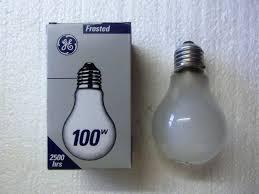 lighting gallery net incandescent ls ge 100w service ls