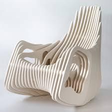 100 Plywood Rocking Armchair Mamulengo By Eduardo Baroni By