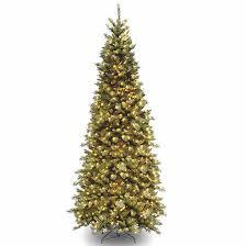 National Tree Co 9 Foot Tiffany Slim Fir Pre Lit Christmas