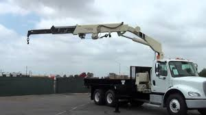2005 Freightliner M112 National N100 7 Ton Knuckle Boom Truck - YouTube