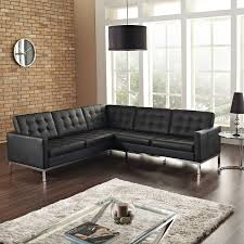 Italsofa Leather Sofa Sectional by Loft L Shaped Leather Sectional Sofa Multiple Colors By Modway