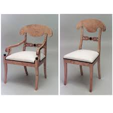 100 Birch Dining Chairs Swedish Biedermeier