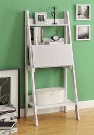 Crate And Barrel Leaning Desk by Desk With Bookcase White Roselawnlutheran