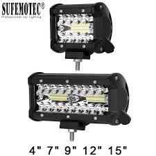 100 Lights For Trucks NAO LED Bar Work Light Led 12V 60W Bar Bulb 24V Spot Flood
