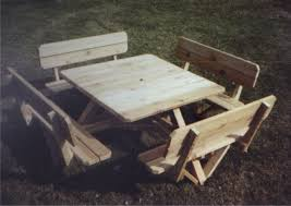 beautiful square picnic table 93 on home design ideas with square