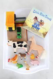 Little Blue Truck Story Telling Basket - Mama.Papa.Bubba. Little Blue Truck Party Favors Supplies Trucks Christmas Throw A The Book Chasing After Dear Board Alice Schertle Jill Mcelmurry Darlin Designs The Halloween And Garland Craft Book Nerd Mommy Acvities This Home Of Mine Little Blue Truck Childrens Books Read Aloud For Kids Number Games Based On Birthday Package Crowning Details Vimeo Story Play Teach Beside Me