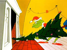 Grinch Stealing The Christmas Tree