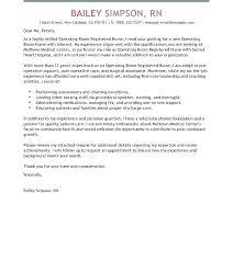 Nursing Cover Letter Sample Pdf Examples For Registered Nurses Stirring Resume