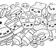 Kawaii Coloring Book Coloring Book Coloring Pages Coloring Pages