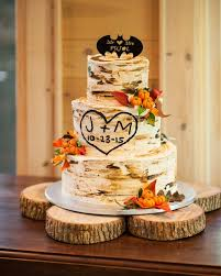 Rustic Mountain Wedding Cake Batman 600x750