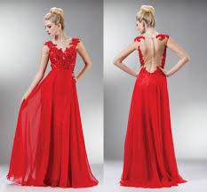 online get cheap red plus size prom dresses long sleeve