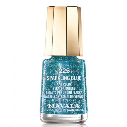 Mavala Nail Color - 225 Sparkling Blue, 5ml