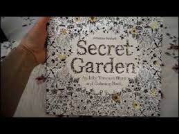 Secret Garden Coloring Book For Grown Ups Stress Relief Relaxation Fun