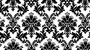 White And Black Pattern Wallpaper