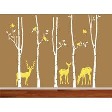 Write Your Review Forest Birch Tree Christmas