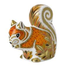 Royal Crown Derby - Paperweight - Autumn Squirrel: Amazon.co.uk ... Winter Owl Paperweight Royal Crown Derby Collection Rspb Shop A Large Prestige Edition Paperweight Long Eared The Barn Gift 91papbox62729_07jpg Lot 250 Printed Mark Colctables Exclusive Collections Robin Happy Birthday Bear A Beswick Owl 1046 2 Porcelachina Pottery Porcelain Glass