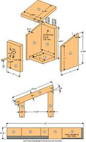 Free Bird Table Plans by Bird House Plans For Robins All About Birdhouses Pinterest