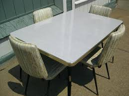 Metal Kitchen Table Sets For Vintage Tables And Chairs W 4 Best