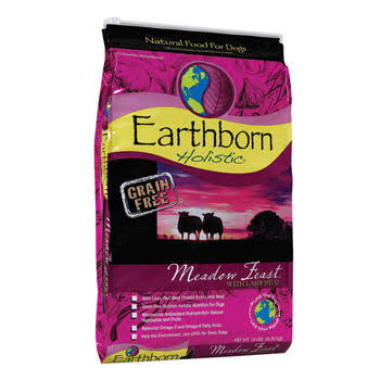 Earthborn Holistic Grain Free Dog Food - Meadow Feast, 14lb