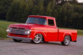 A Cardinal Red, Coyote-Powered 1960 Ford F-100 You Just Can't Miss ... 1960 Chevrolet Ck Truck For Sale Near Cadillac Michigan 49601 Ford F100 Pickup Truck Item Bi9539 Sold June 13 Ve Chevy Truck Sales Brochure 1149 Pclick Viking Grain Da5563 July Customer Gallery To 1966 Intertional Pumper Used Details Gmc 12 Ton Pickup Stock Photo 21903698 Alamy The Auto Accelero Blog When Trucks Were Really Simple Dodge Peterbilt 281 Wikipedia Morris Minor A120 Cornelius Recdjulyforterragmcsasriseinthemiddleeast